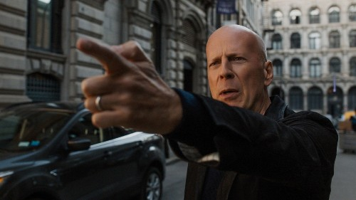 Bruce Willis takes aim and misfires in an imbecilic 'Death Wish' remake