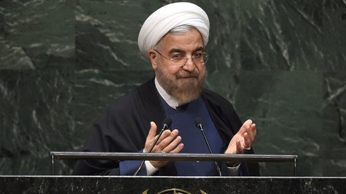 Iran's Rouhani faults West contributing to rise of terrorism