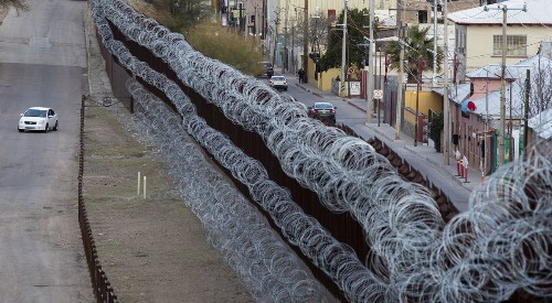 Trump says barbed wire 'can be a beautiful sight.' Many border communities disagree