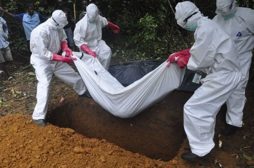 To drive down Ebola transmission, saying goodbye to the dead must change