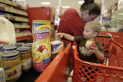 Too much sugar and sodium are on the menu for toddlers, study finds