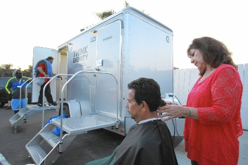 Nonprofit's mobile showers program for Chula Vista homeless keeps dignity in mind