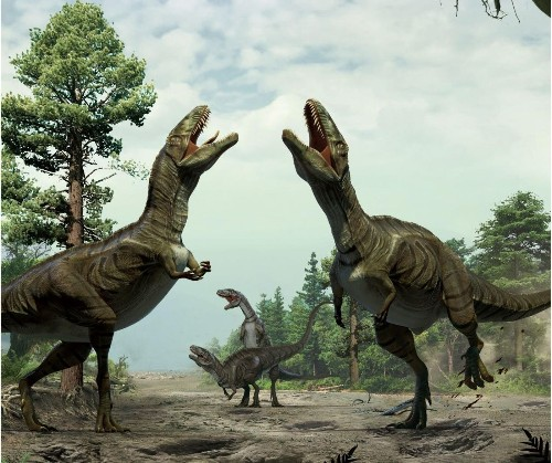 Dance of the dinosaurs? Strange gouges hint at bird-like mating rituals - Los Angeles Times