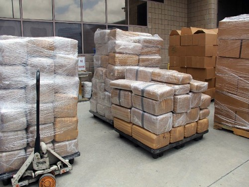 Border officials find 7 tons of marijuana in commercial truck