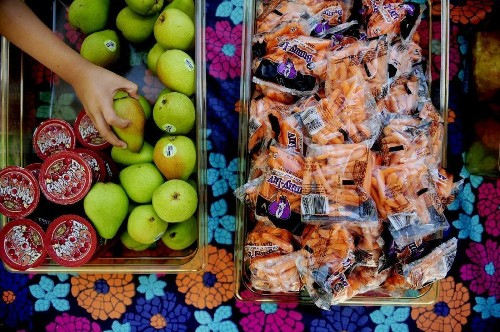 Laws against junk food in schools help rich students more than poor ones