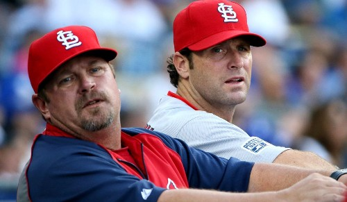 Cardinals Manager Mike Matheny is sea of tranquillity amid clamor - Los Angeles Times