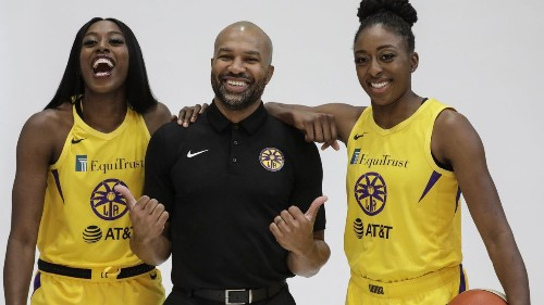 Sparks' newcomers are the talk of media day in wake of Candace Parker's injury