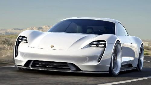 Porsche unveils all-electric Tesla-fighting sports car
