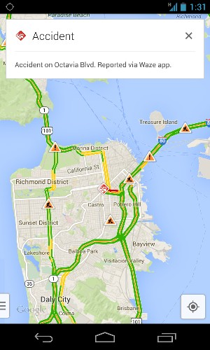 Waze traffic incident reports coming to Google Maps - Los Angeles Times