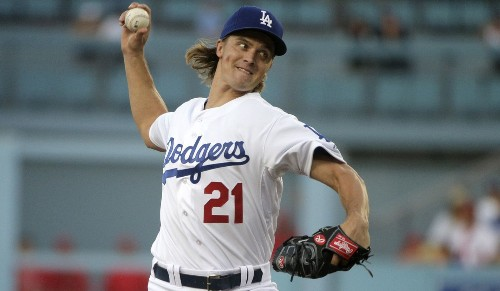 Zack Greinke still in top form, leads Dodgers to 5-3 win over Angels - Los Angeles Times