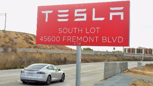 Tesla stock value overtakes Ford as Elon Musk disses short sellers