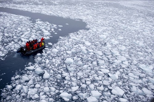 Antarctic ice shelves melting 70% faster, study shows - Los Angeles Times