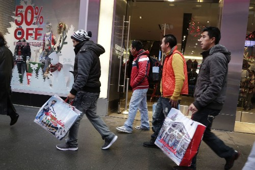 Cautious consumers hold back on spending in December as concerns rise about U.S. economy