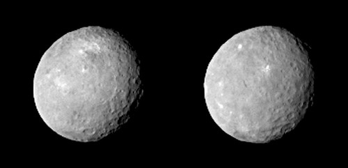 Ceres: Dwarf planet is pocked with craters, NASA's Dawn spacecraft shows - Los Angeles Times