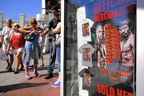 For hotels and casinos, Mayweather-Pacquiao fight packs a punch