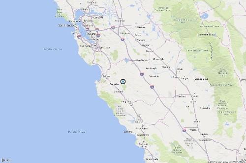 Earthquake: 3.5 quake strikes near Pinnacles, Calif.
