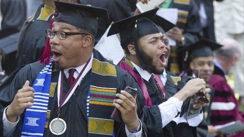 Morehouse commencement speaker tells grads he'll pay off their student loans
