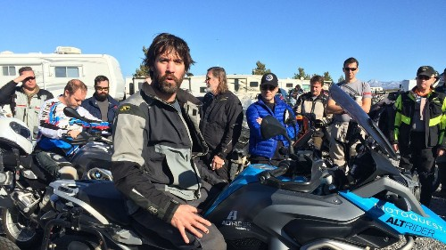 Motorcycle adventure riding: Not for the faint of heart