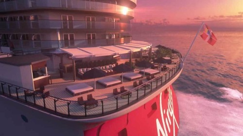 Virgin Voyages' new adults-only cruise ship Scarlet Lady coming into focus