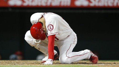 Injuries to Ohtani and Simmons send the Angels to the drawing board