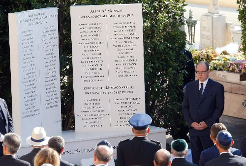 More than seven decades later, Monaco apologizes for deporting Jews