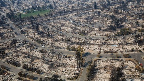 Santa Rosa comes to terms with the scale of devastation: 3,000 buildings lost, many dead in fire