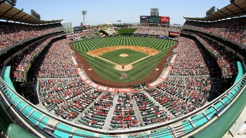 Does Anaheim consider Long Beach a legitimate rival for the Angels?