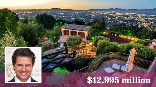 Tom Cruise lists compound in Hollywood Hills West