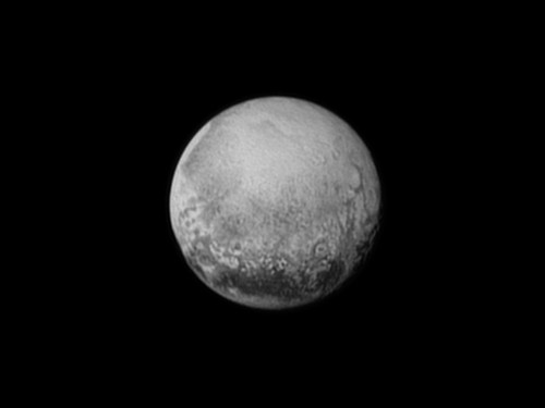 Almost there! Pluto looms larger as New Horizons spacecraft closes in