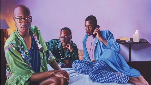 Review: Jarvis Boyland's diva paintings strike a fine pose