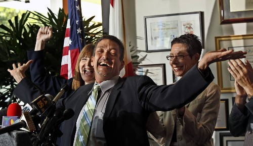 Gay mayor accused of sexual harassment as #MeToo reckoning comes to West Hollywood