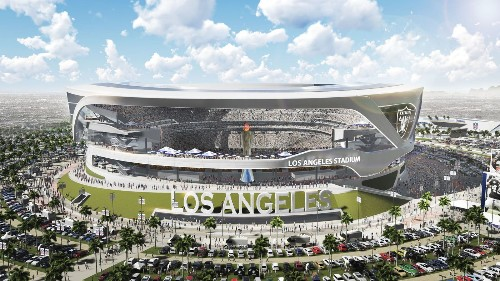 Chargers and Raiders overhaul design for potential L.A. stadium - Los Angeles Times