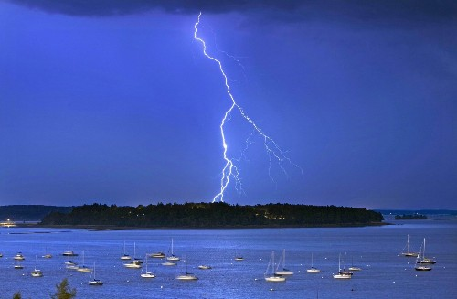 Lightning will increase with climate change, study predicts