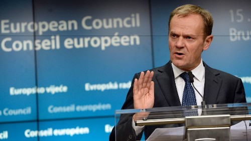 European Council president includes United States as a threat to Europe - Los Angeles Times