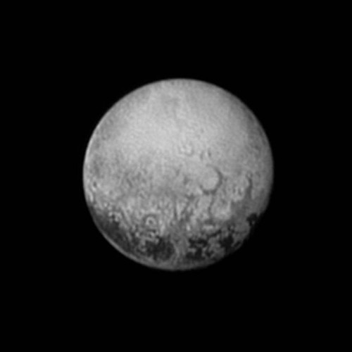 Scientists get their last look at Pluto's mysterious dark spots - Los Angeles Times