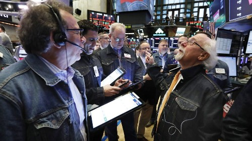 Stocks move broadly higher, led by tech firms; Biogen dives