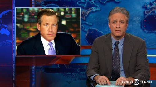 Jon Stewart says Brian Williams had 'infotainment confusion syndrome'