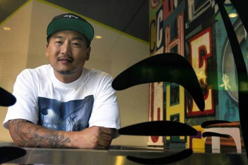 Roy Choi serves up an appetizer with memoir 'L.A. Son' - Los Angeles Times