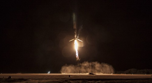 SpaceX rocket landing: great news when we badly need it