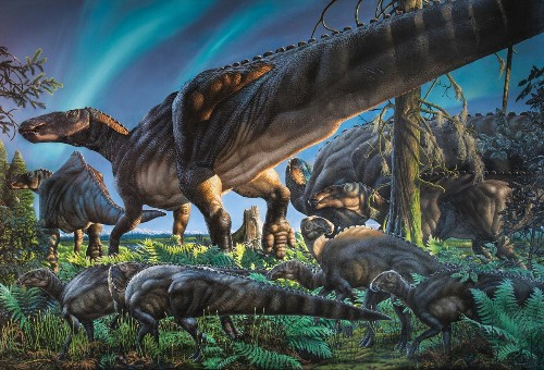 Dinosaur discovery in Alaska: A duck-billed herbivore that didn't fear the snow