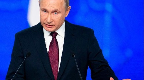 Putin threatens to target U.S. with nuclear weapons