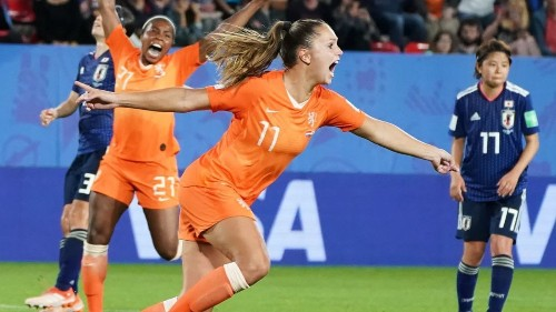 Women's World Cup: Netherlands defeats Japan on late penalty kick
