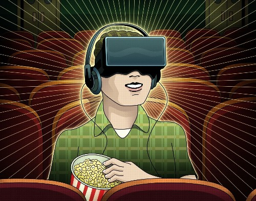 Hollywood looks to bring virtual-reality cinema to life