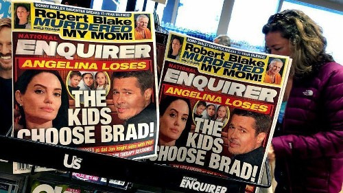Essential California: Guess who's been a big investor in the National Enquirer