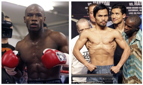 Pacquiao and Mayweather fight over rejected drug-testing penalty - Los Angeles Times
