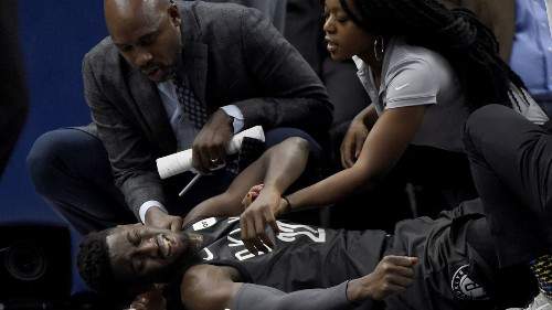 NBA: Timberwolves beat Nets after Caris LeVert's gruesome injury - Los Angeles Times