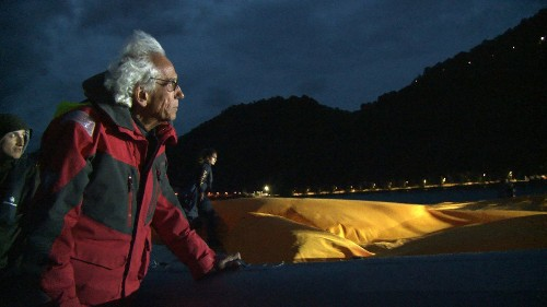 Review: Observing Christo's balancing act in art documentary 'Walking on Water'