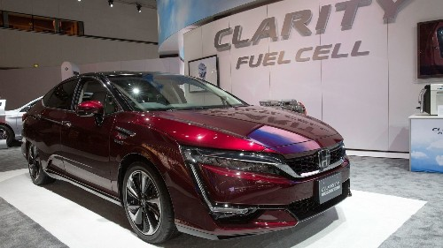 GM and Honda team up on hydrogen fuel cell vehicles