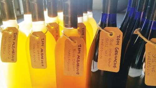 Making wine with biodynamically farmed grapes — and marijuana