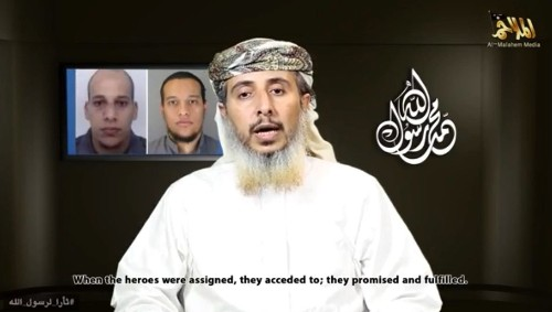 Senior Al Qaeda leader in Yemen claims responsibility for Paris attack
